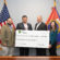 Mississippi Band of Choctaw Indians receive check for new elementary school