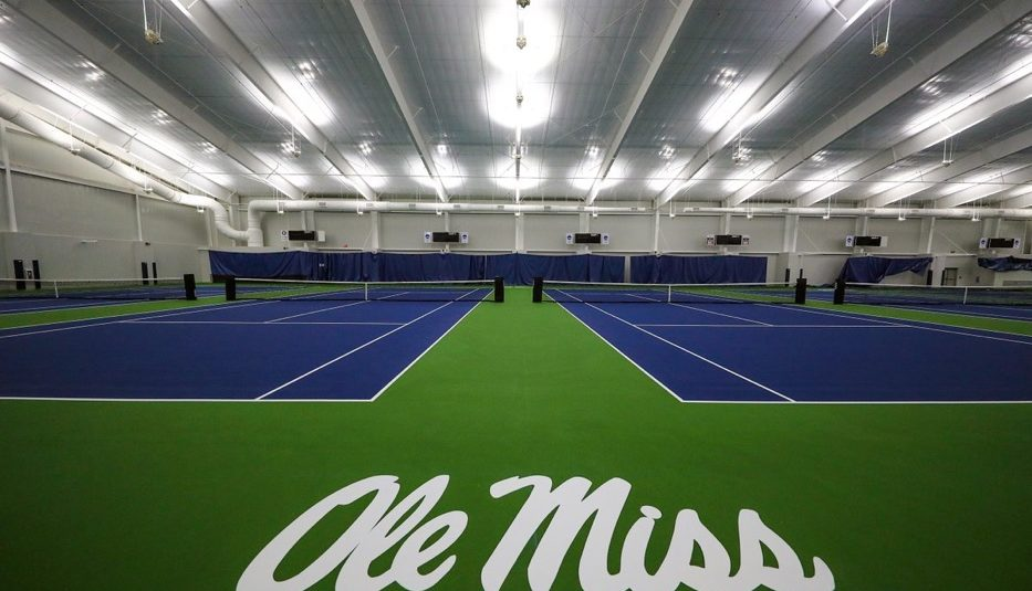University of Mississippi Indoor Tennis Facility