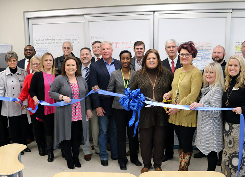 Ribbon-Cutting Ceremony at Richland Upper Elementary School