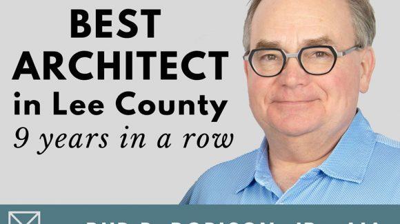 Rud B. Robison, Jr., named Best Architect in Lee County 2020