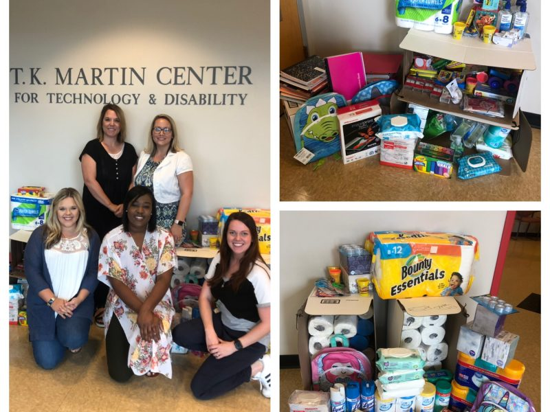 PryorMorrow has successful school supply drive benefiting special needs preschool
