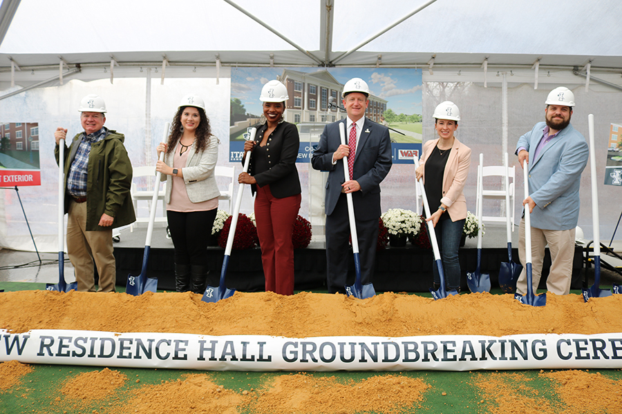 ICC Residence Hall Groundbreaking