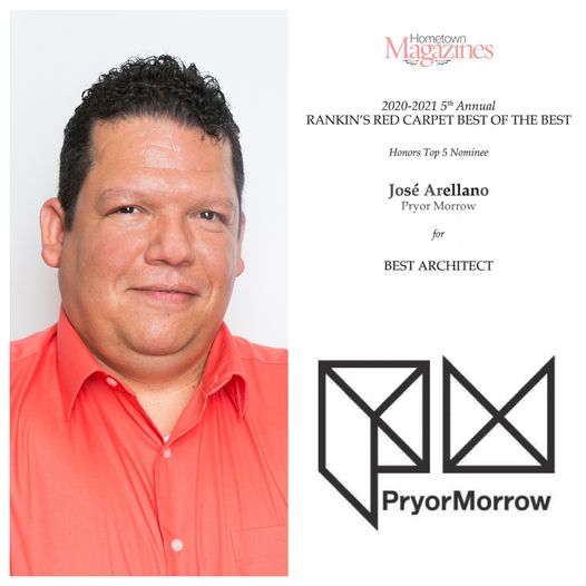 Jose Arellano, AIA, named Top 5 Best Architect in Rankin County