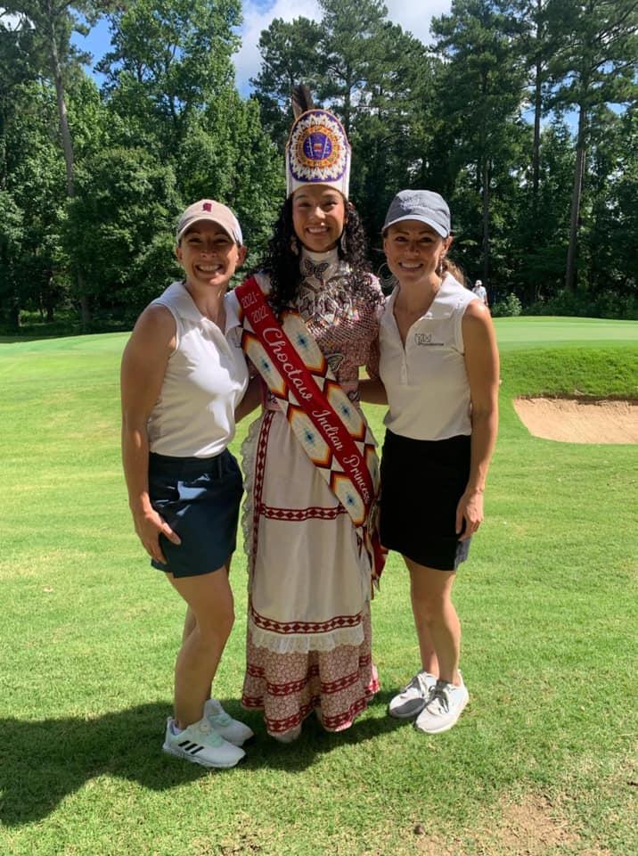 PryorMorrow Enjoys Golf Tournament During Choctaw Indian Fair