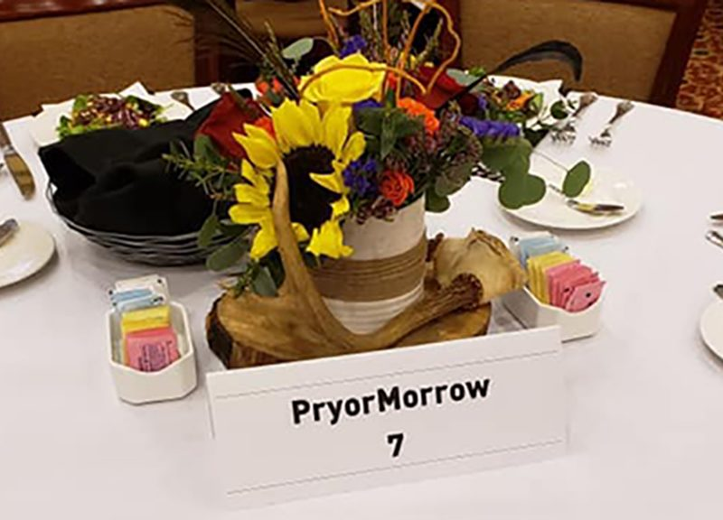 PryorMorrow staff enjoy EMCC's Wild Game Dinner