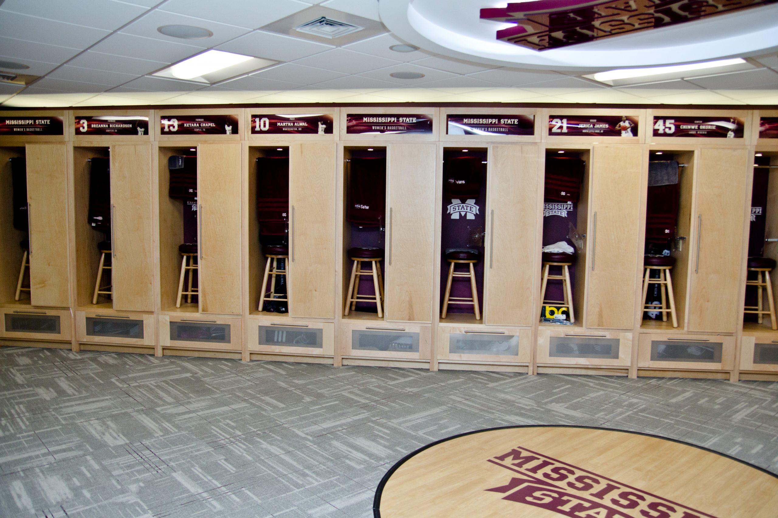 MSU Basketball Locker Rooms