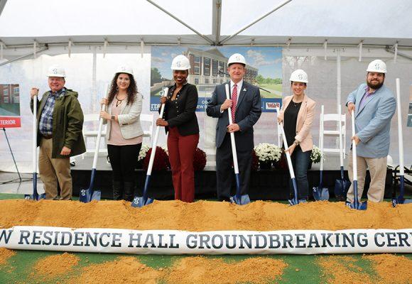 ICC Residence Hall Groundbreaking