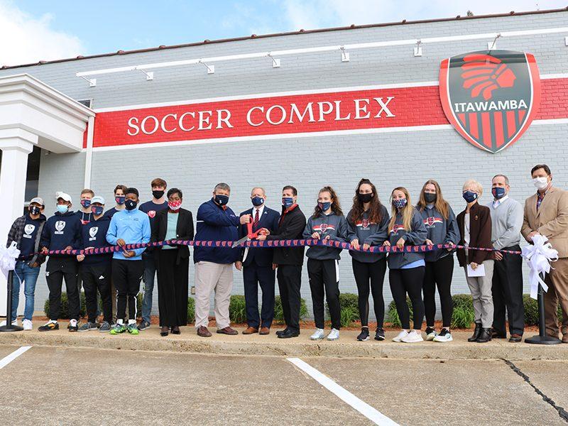 ICC Soccer Complex Ribbon Cutting