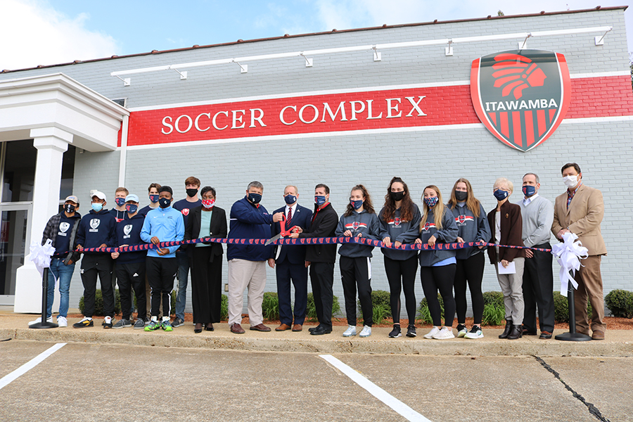 ICC Soccer Complex Ribbon Cutting