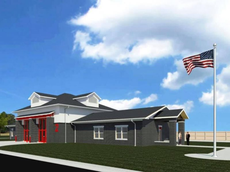Plans advance on Fire Station No. 2 in Tupelo