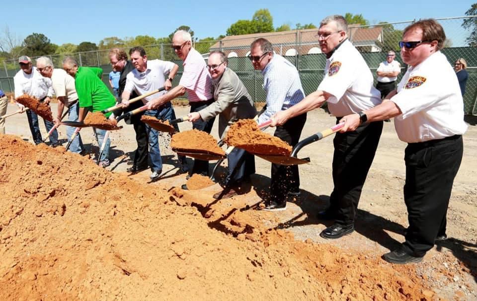 Tupelo Fire Station No. 2 Construction Underway