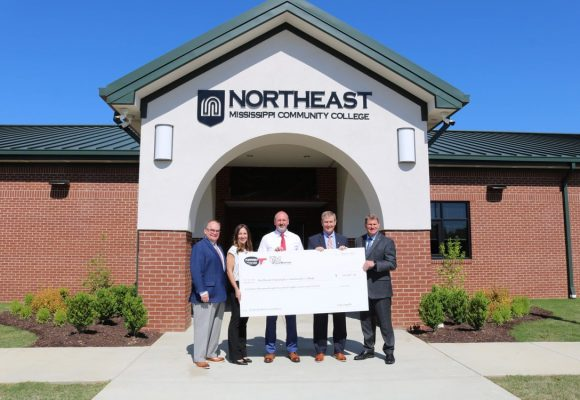 PryorMorrow presents NEMCC with TVA Incentive Check